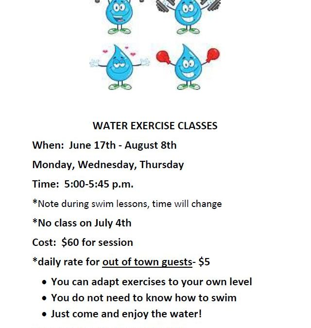 Water  Exercise Classes